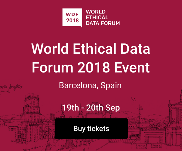 World Ethical Data Forum 2018