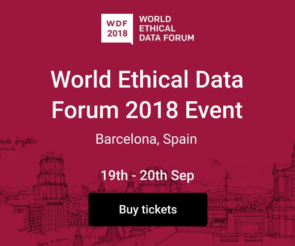 World Ethical Data Forum 2018
